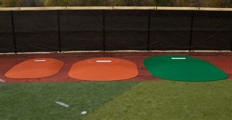 Table Mound by Best Portable Pitching Mounds Replicas League Approved Jbr