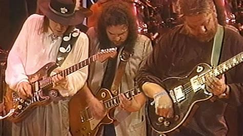 boot stompin good time  skynyrd  toy caldwell join stevie ray vaughan