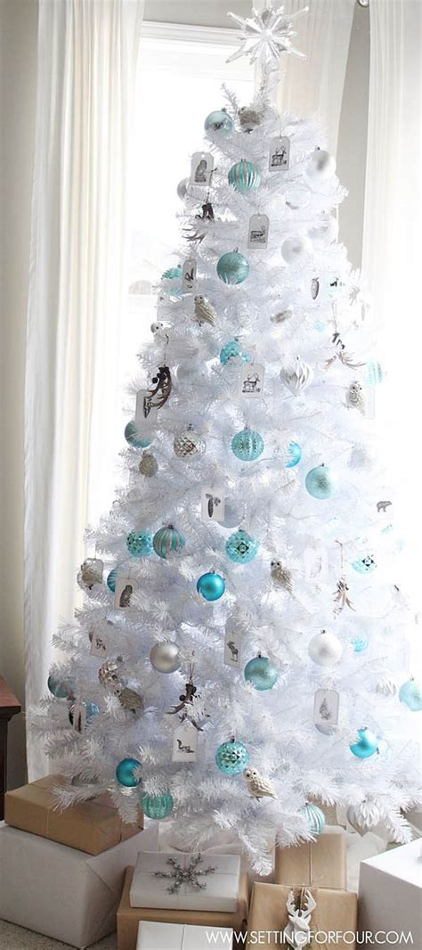 decorated white tree ideas most pinteresting trees on