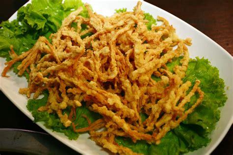 resep jamur tiram crispy renyah  enak resep masakan