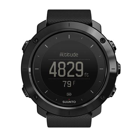 Suunto Digital Black suunto traverse sapphire black outdoor with gps