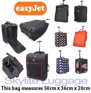 cabin cases 50x40x20 50x40x20 easyjet trolley cabin approved wheeled