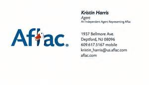 aflac business cards business card from kristin harris independent aflac