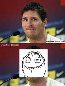 Lionel Messi Memes - messi meme fear of bliss
