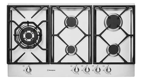 buy westinghouse whgsa mm  burner gas cooktop