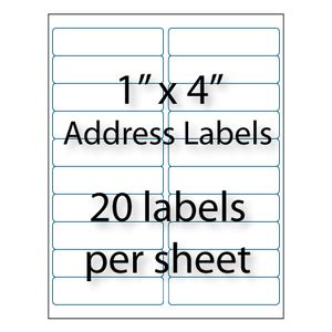 avery 5161 template address labels 4 quot x 1 quot 20 up avery 174 5161 5961