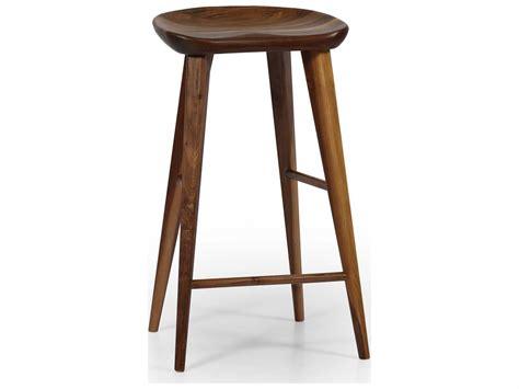 Taburet Wooden Bar Stool by Ion Design Taburet Walnut Bar Stool With Matte Finish P 2384