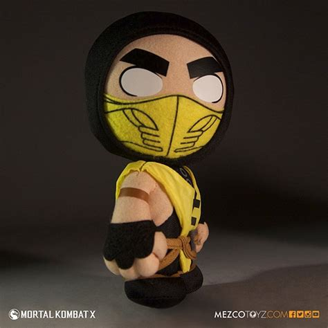 mortal kombat x bobbleheads mezco reveals official mortal kombat x plush and
