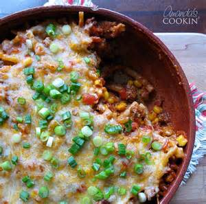ground beef casserole delicious southwest flavors in an easy dinner