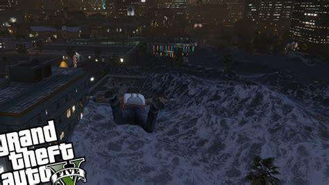 mod gta 5 tsunami pc gta 5 pc tsunami mod tsunami big waves youtube