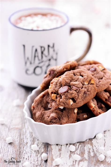 hot chips recipe hot chocolate cookies recipe the gunny sack