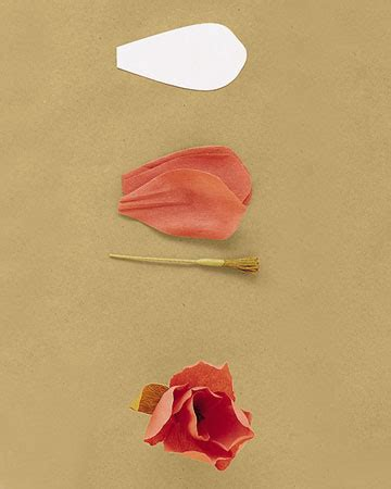 How To Make Paper Tulip Flowers - diy meandyoulookbook