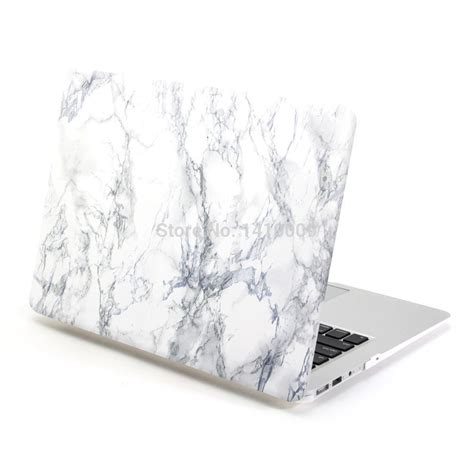 marble print frosted rubberized cover sleeve with keyboard cover skin for macbook air