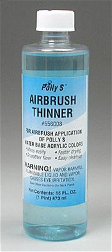 acrylic paint airbrush thinning polly scale airbrush thinner 16 oz flof556008 floquil