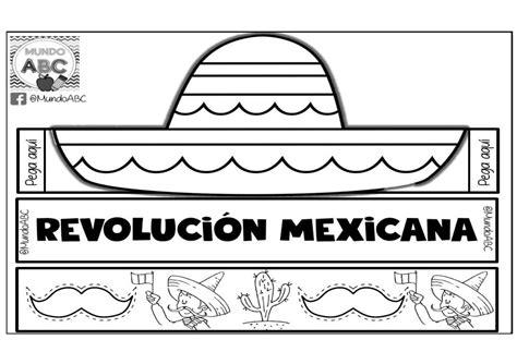 imagenes de la revolucion mexicana en fomi fant 225 stico y creativo sombrero para este 20 de noviembre