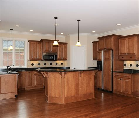 Kitchens With Wood Floors And Cabinets Wood Kitchen Flooring Captainwalt