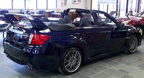 subaru outback convertible 2011 subaru sti convertible