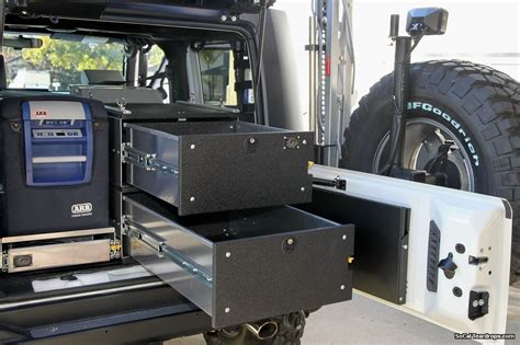 Jk Drawer System by Outback Solutions Arb Drawer Install And Review 2011