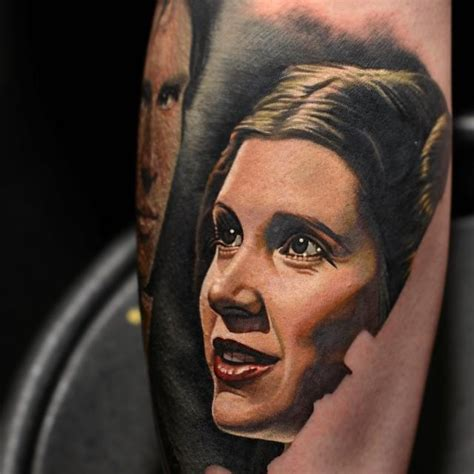 princess leia tattoo education tattoos nikko princess leia