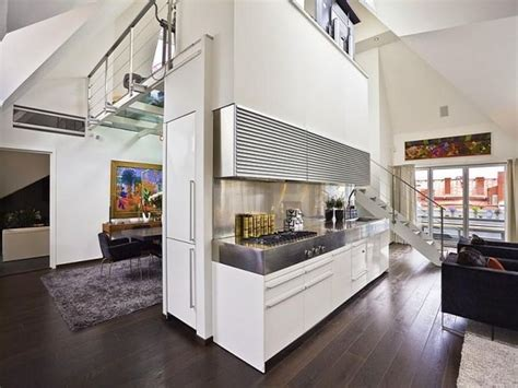 Loft Apartment Ideas contemporary loft apartment interior design with glass
