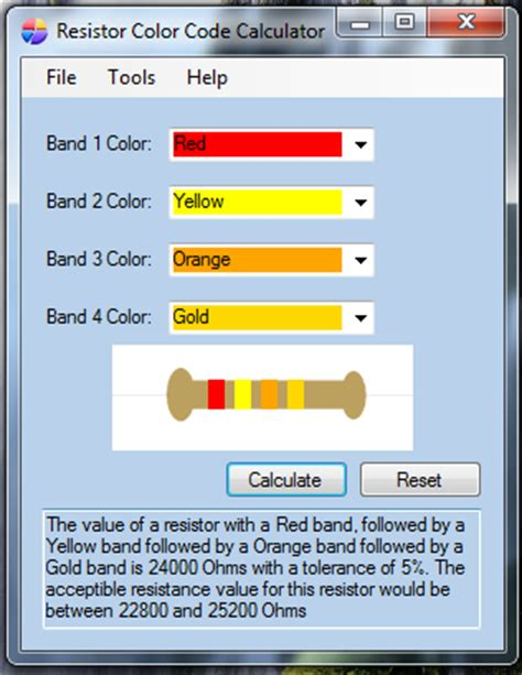 resistor color code calculator for mobile resistor color code calculator for mobile