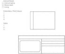 leather templates free leather wallet template