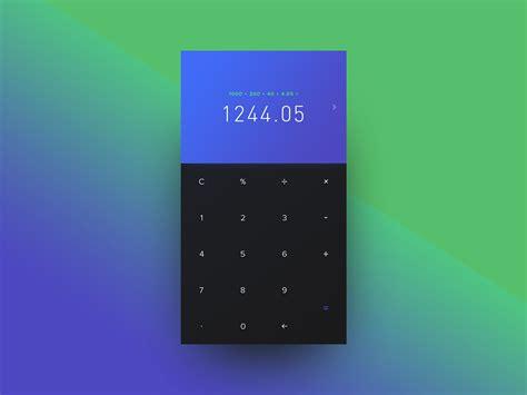 calculator ui calculator for ios iosup