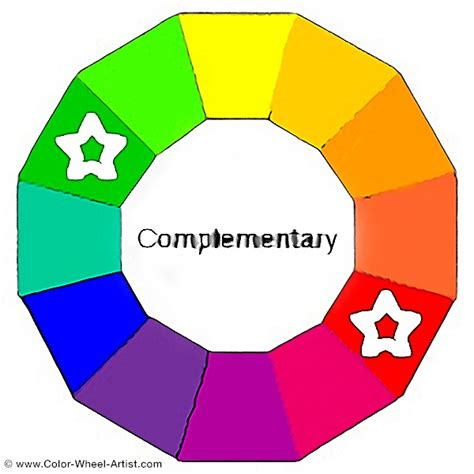 color wheel complementary colors complementary colors the color theory and practical