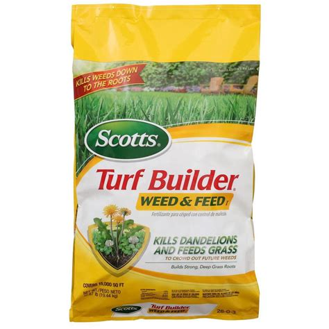 scotts turf builder 43 07 lb 15m and feed 29725