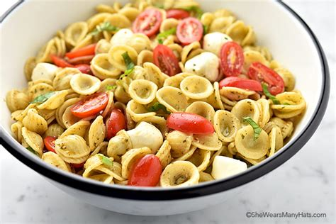 pasta salad recipes easy ingredients for pasta salad