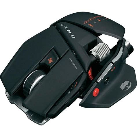 Mouse Gaming Rat wireless gaming mouse laser madcatz r a t 9 weight