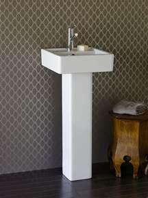 Modern Pedestal Sinks For Small Bathrooms Choosing Bathroom Fixtures Hgtv