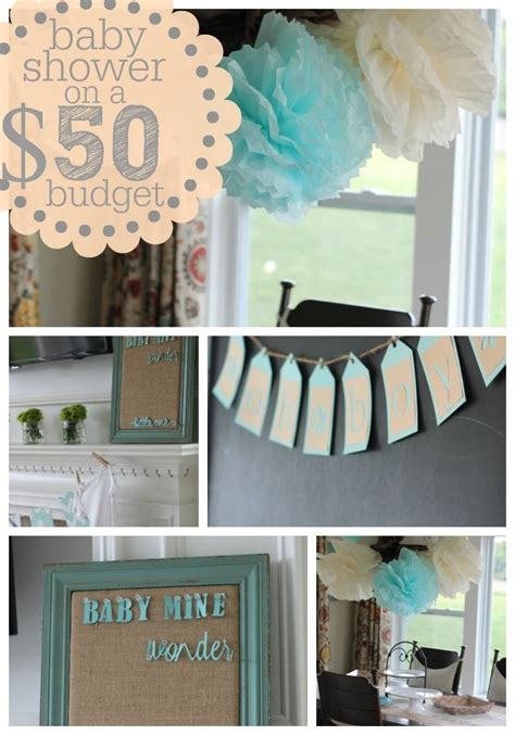 Decorating For A Baby Shower On A Budget by Baby Shower On A Budget Money Babies And Budget Baby Shower