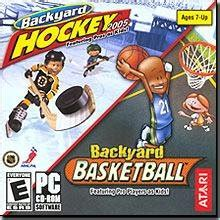 backyard hockey 2005 backyard hockey 2005 pc backyard basketball pc mac