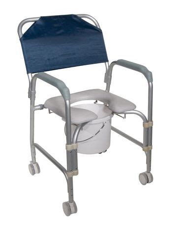 lightweight portable shower chair commode with casters drive lightweight portable shower chair commode