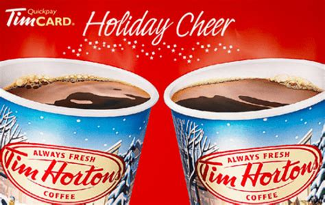 Tim Hortons Gift Card Discount - tim hortons canada promotions buy a 25 e gift card and receive a free 5 e gift card