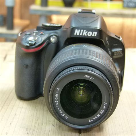 Nikon D5100 Lensa Kit 18 55mm used nikon d5100 digital slr with 18 55mm vr kit lens used cameras used harrison cameras