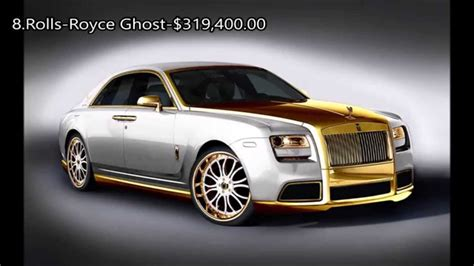 2015 top 10 most expensive luxury cars youtube