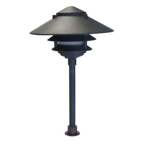 Landscape Lighting Low Voltage Wide Brim Pagoda Pagoda Landscape Lights