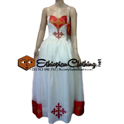 New Wedding Dress by Traditional Eritrean Habesha Wedding Dresses