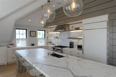 tradtioanal white kitchen design calacatta marble calacatta gold marble countertops transitional kitchen