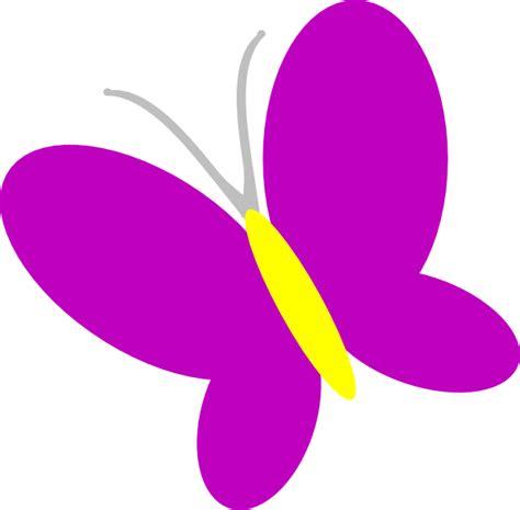 Purple Butterfly Clipart purple butterfly clip at clker vector clip royalty free domain