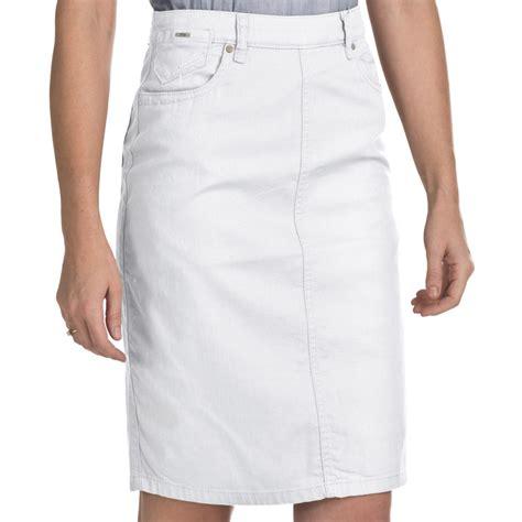 fdj dressing jean skirt stretch denim for