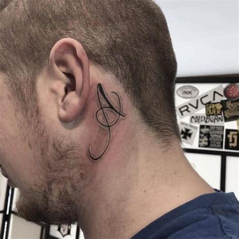 tattoo pen in ear behind the ear tattoo 55 different suggestions