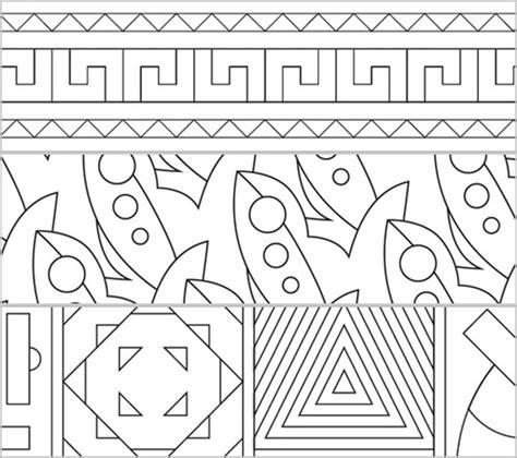 Muster Zum Ausdrucken Patterns Muster Zum Ausmalen