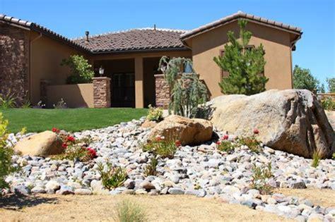 Landscape Rock High Desert Landscaping A Corner Lot Landscaping Network