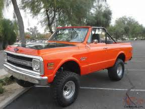 1970 chevy k5 blazer 4x4 covette powered fuel injected