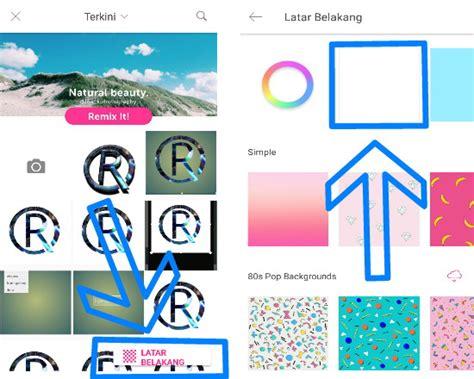 cara membuat logo watermark di android cara mudah membuat logo 3d di picsart android