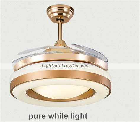 gold ceiling fan with light copper fans gold color invisible blades ceiling fan with
