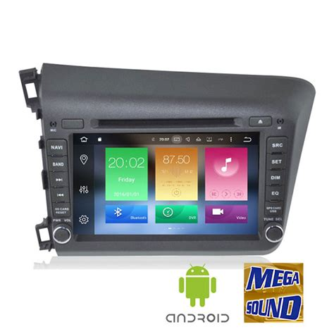 oem honda civic   android  cores wifi gps dvd bt